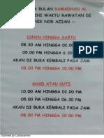Klinik Azian - Ramadhan