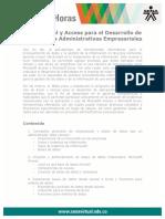 Uso Excel Acces Desarrollo Aplicaciones Administrativas Empresariales