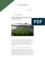 Thomson Reuters _ Enfrentamiento Entre Hinchas de Futbol y Policías