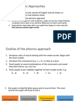 Basic Phonemic Approaches