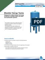Datasheet Municipal Bladder Surge Tanks