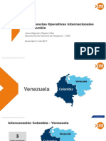 Experiencias Operativas de Interconexión Colombia