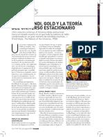 Hoyle, Bondi, Gold y La Teoría Del Universo Estacionario.