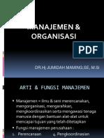 1. MANAJEMEN-ORGANISASI