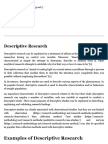 Descriptive Research - Research Methodology