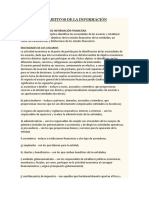 Usuarios y Objetivos de La Información Financiera