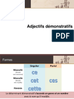 ADJECTIFS-DEMONSTRATIFS