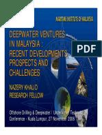 101.Deepwater Ventures in Malaysia 27112006