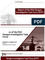 REPORT OF THE UP PGH DENGUE INVESTIGATIVE TASK FORCE (DITF)