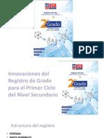 Sociolizacion Innovaciones Registro de Grado y Salidas Optativas