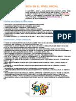 La Música en El Nivel Inicial PDF