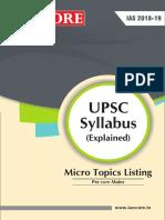 Syllabus Update C
