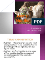 Animal Nutrition Original Copy