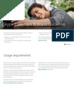 Skype Brand Guidelines