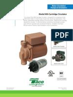 TACO Cartridge Circulator Model 006