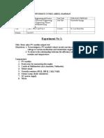 Experiment 1- Basic PV Test