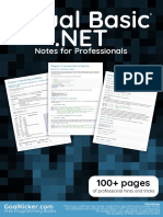 VisualBasic.NET Notes for Professionals