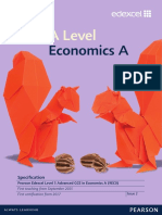 Edexcel a-level Economics SPECIFICATION