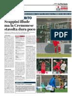 La Provincia Di Cremona 04-02-2018 - Reagire Subito