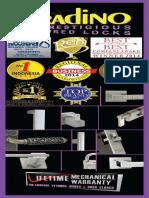 Katalog Kunci pintu dan Jendela Merk Granido