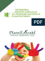 Mini Ghid Plantextrakt Produse Ptr Copii 2017