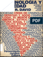 Criminologia y Sociedad-pedro r. David