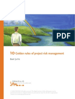 10 Golden Rules Project Risk Management