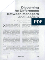 2010_ Reynolds & Warfield_Discerning the Differences Between Managers and Leaders