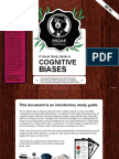 Cognitive Biases a Visual Study Guide