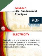 Dc Circuits Module 1