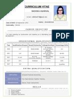 Resume New Format 2-2