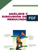 Analisis y Discusion de Los Resultados