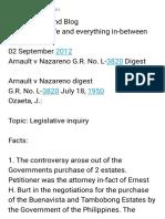 Arnault v Nazareno Digest