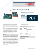 EOL Line Supervision Set LBB 4442_00