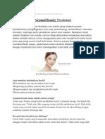 Personal Beauty : Klinik Kecantikan, Cara Merawat Kulit, Solusi Permasalahan Kulit