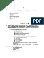 HR Notes