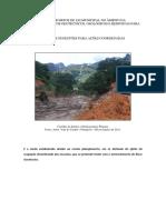 Projeto Para Lei Municipal No Âmbito Da Mitigação de Riscos Geotécnicos