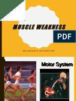 Muscle Weakness Ed 2017