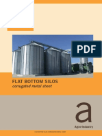 Zanin Corrugated Flat Silos
