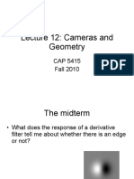 Cameras and Geometry