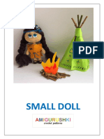 Small Doll crochet amigurumi