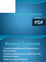For Real Rational Exponents Report