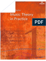 Music Theory in Practise
