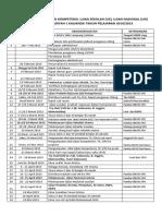 Kalender Kegiatan UN Smk 2015