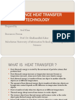 Advance Heat Transfer Technology