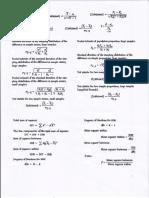 Summary of Formula