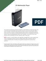 Manual Iomega Screenplay Pro HD