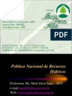 10 10 2 Politica Nacional de Recursos Hidricos