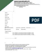Formulir Pelatihan SJH Reguler