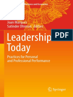 Leadership Today Practices for Personal and Professional Performance